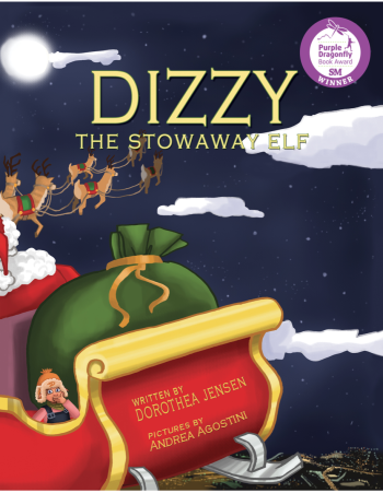 Dizzy, the Stowaway Elf