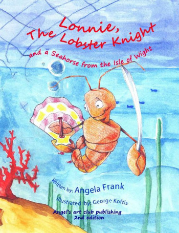 Lonnie the Lobster Knight and a Seahorse from the