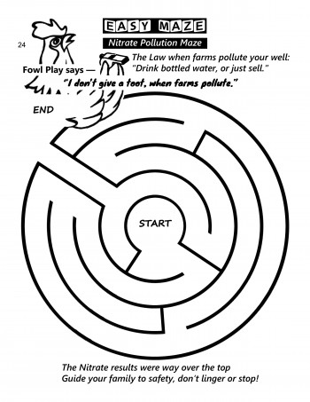 EASY MAZE - Nitrate Pollution Maze