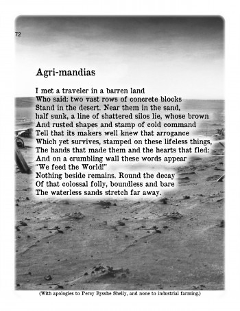 Agri-mandias Poem