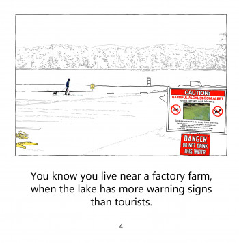 More warning signs than tourists