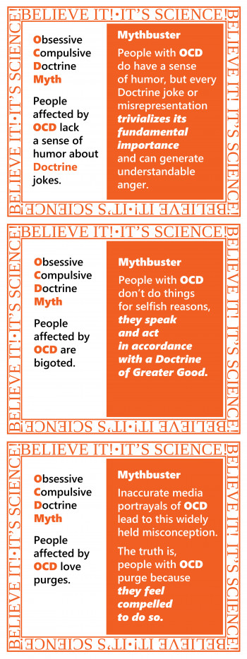 Obsessive Compulsive Doctrine Mythbusters