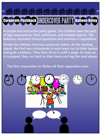 """Corporate Pushback Balloon Relay"""