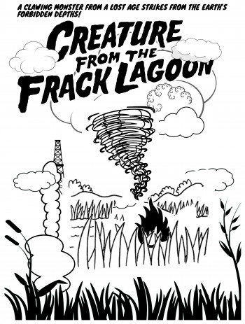 """Creature from the Frack Lagoon"""