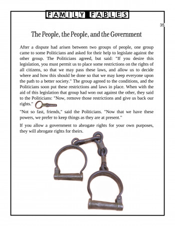 The People-the People-and the Government
