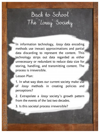 Back to School - The Lossy Society