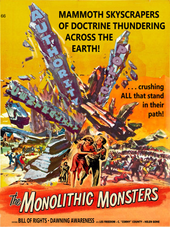 Monolithic Monsters movie poster
