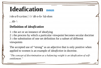"New Word: ""Ideafication"""